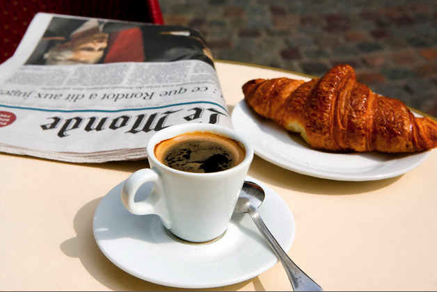 paris-cafe-croissant-coffee-and-newspaper
